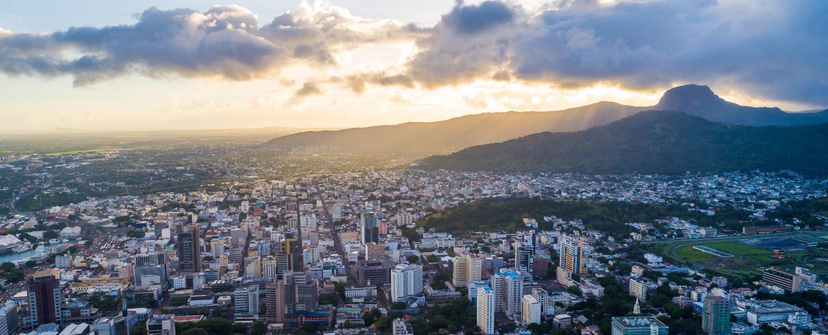 Mauritius Landscape City View