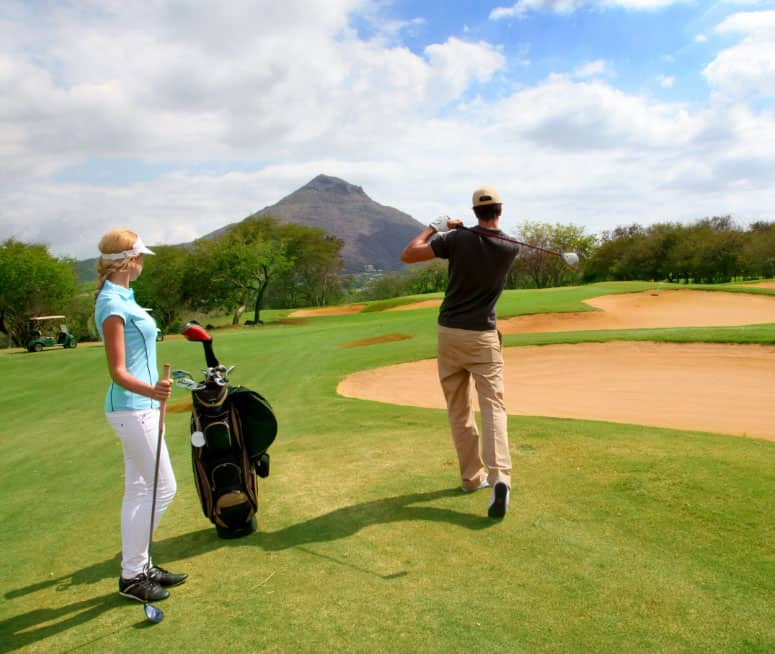 Immigrate or Emigrate to Mauritius   Golf